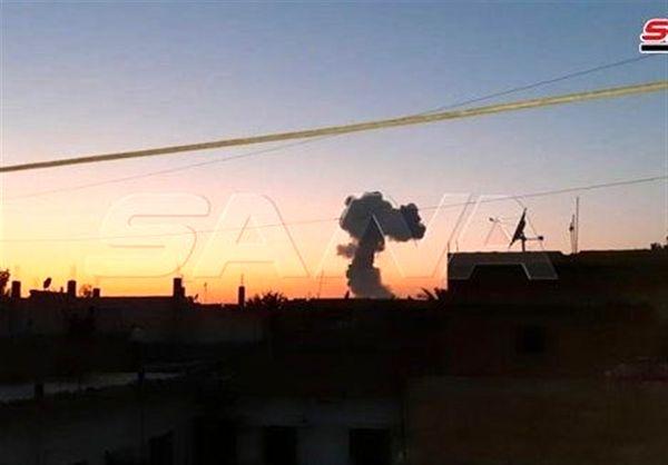 وقوع انفجار مهیب در سوریه