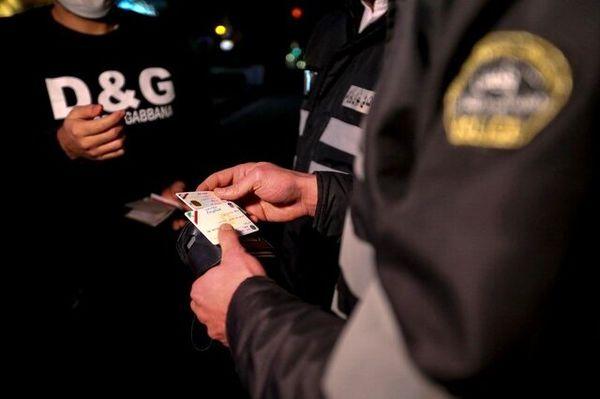 صدور پیامک کرونایی برای بیش از ۶۰هزار راننده متخلف در روز گذشته