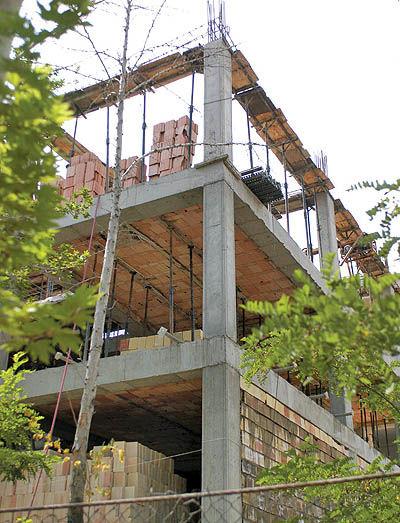 ساختمانهای با مصالح غیراستاندارد پایان کار نمیگیرد