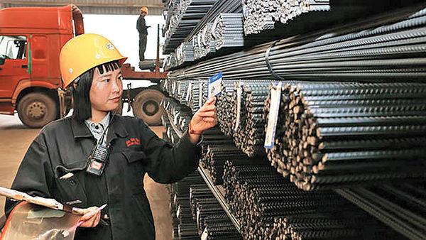 کرونا و افت چشمگیر  مصرف فولاد چین در فوریه