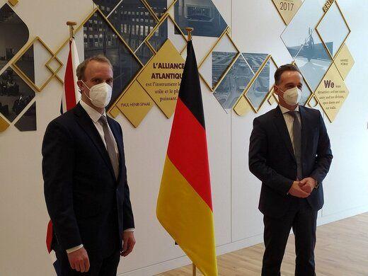 مذاکرات برجامی انگلیس و آلمان در حاشیه اجلاس ناتو