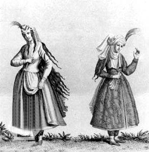 پوشاک زنان در عصر صفوی