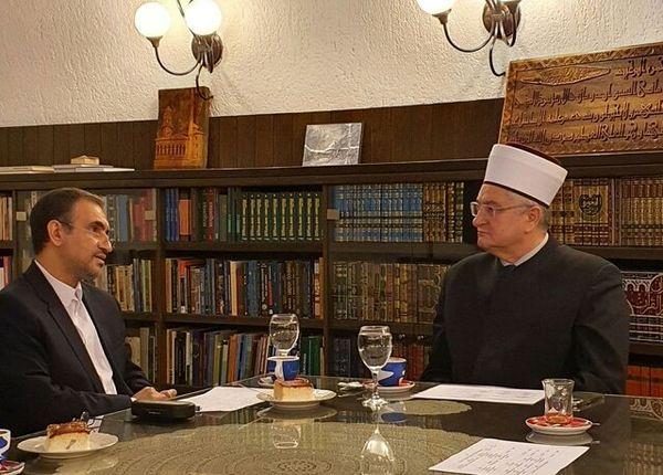 سفیر ایران با مفتی اعظم کرواسی دیدار کرد