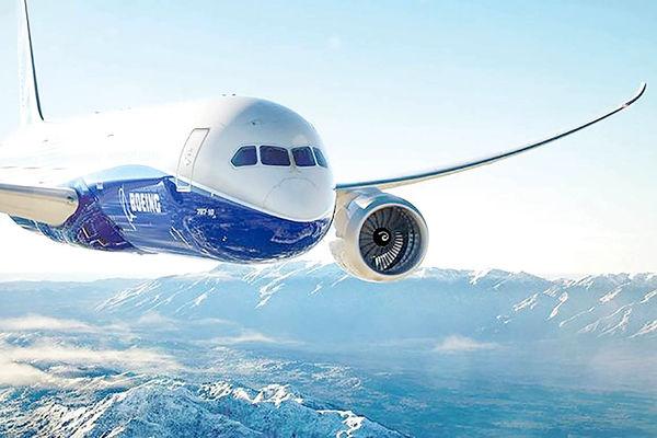 هواپیماهای بوئینگ با سوختهای پایدار