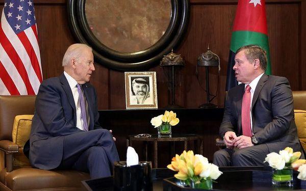 تماس تلفنی بایدن با شاه اردن