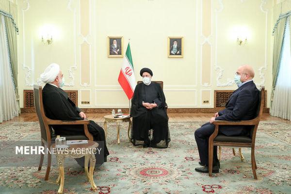 جلسه سران سه قوه به میزبانی رئیس جمهور برگزار شد