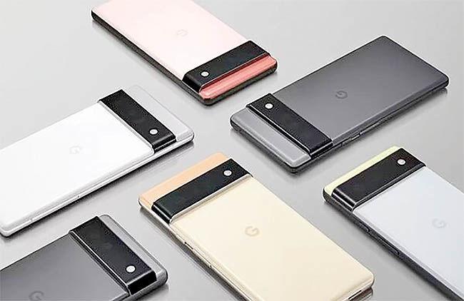 گوگل پیکسل۶ و پیکسل۶پرو با قیمت ۵۹۹ و ۸۹۹ دلار عرضه میشوند
