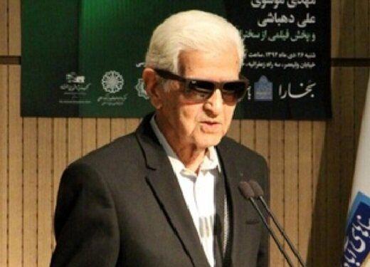 جزییات مراسم خاکسپاری صادق ملک شهمیرزادی