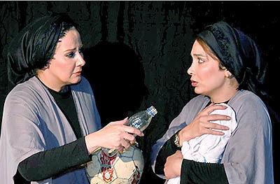 زندگی سهزن در نمایش «کژدم»