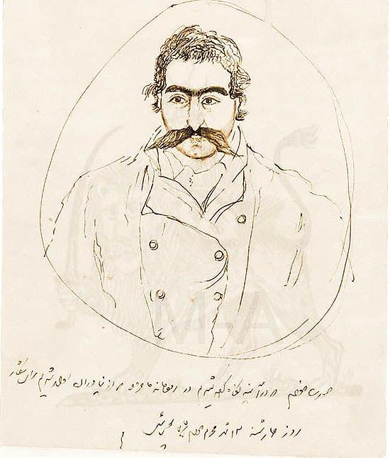 علاقه ناصرالدین شاه به نقاشی