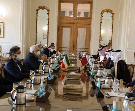 در دیدار ظریف با وزیرخارجه قطر چه گذشت؟