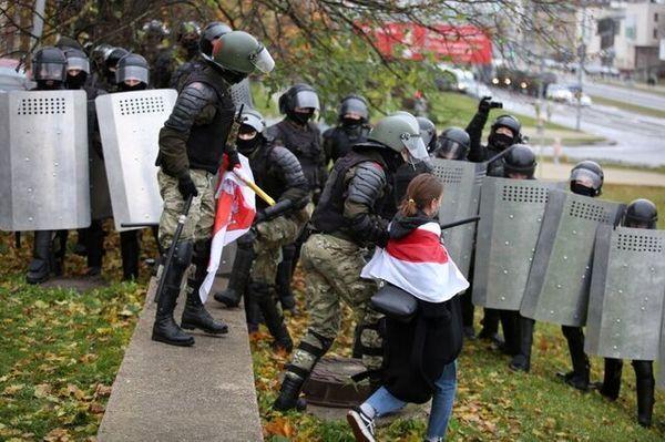 دستگیری دهها تن در اعتراضات خیابانی بلاروس