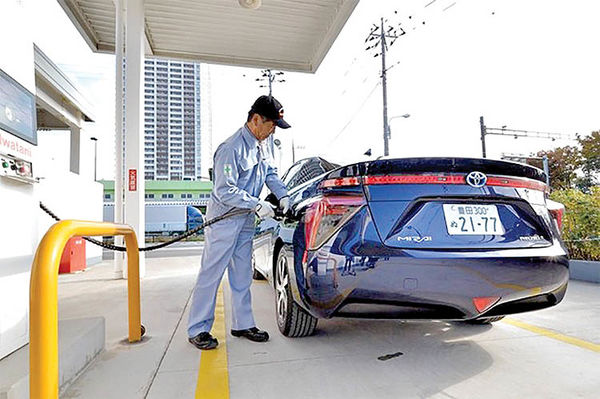 اتحاد هیدروژنی در ژاپن
