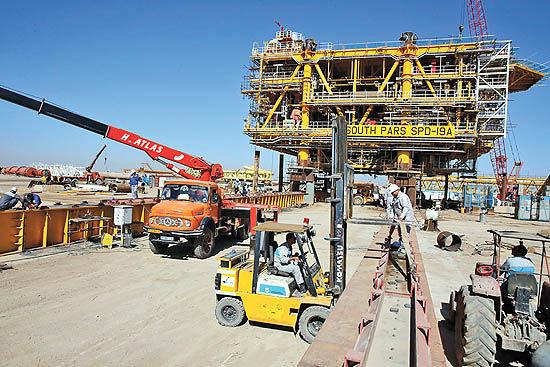 نوسازی تاسیسات نفتی مسجدسلیمان
