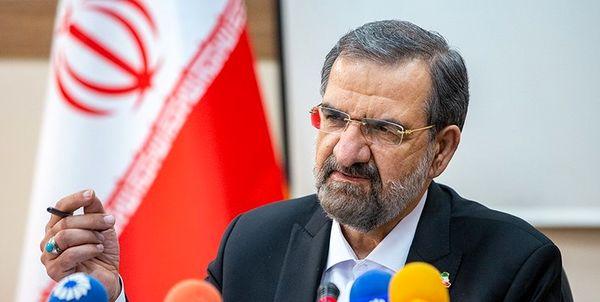 صحبتهای محسن رضائی پیش از آغاز مناظره/ رقیب من مسببان وضعیت موجود کشور هستند