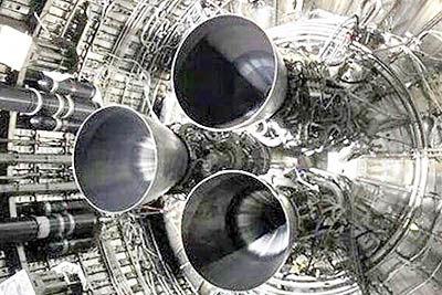 نمونه اولیه استارشیپ با سه موتور آزمایش شد