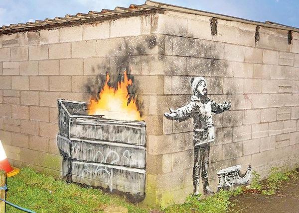 هجوم مردم برای دیدن جدیدترین اثر هنرمند مرموز