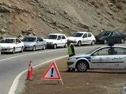 محدودیت ترافیکی در محورهای مواصلاتی مازندران