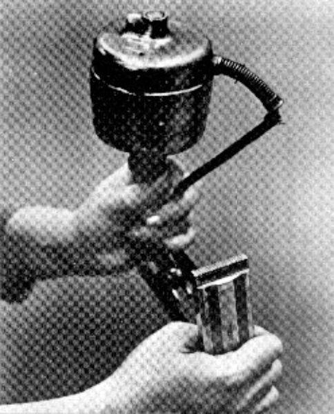 اختراع ماشین ریشتراشی
