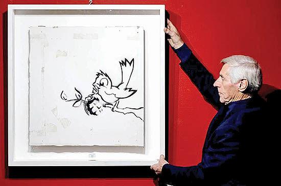فروش «پرنده و نارنجک» بنکسی  به قیمت 170 هزار یورو