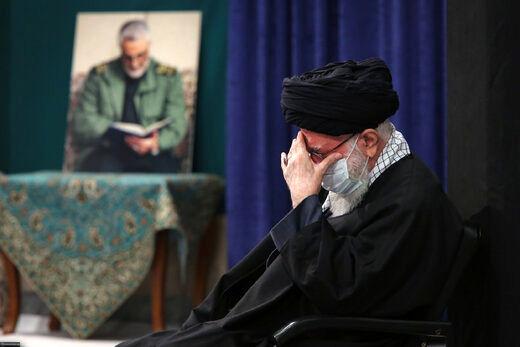سومین شب مراسم عزاداری شهادت حضرت زهرا (س) در حسینیه امام خمینی + عکس