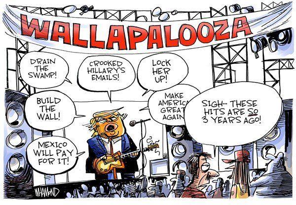 کنسرت تکراری وعدههای انتخاباتی ترامپ آغاز شد!