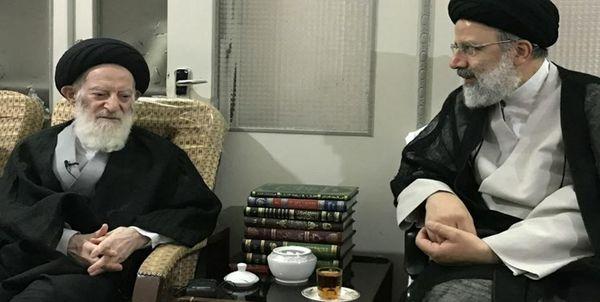 رئیسی با آیت الله شبیری زنجانی دیدار کرد
