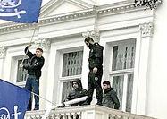 حمله «فرقهای» به سفارت ایران در لندن