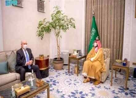 بن سلمان با فرستاده ویژه آمریکا دیدار کرد