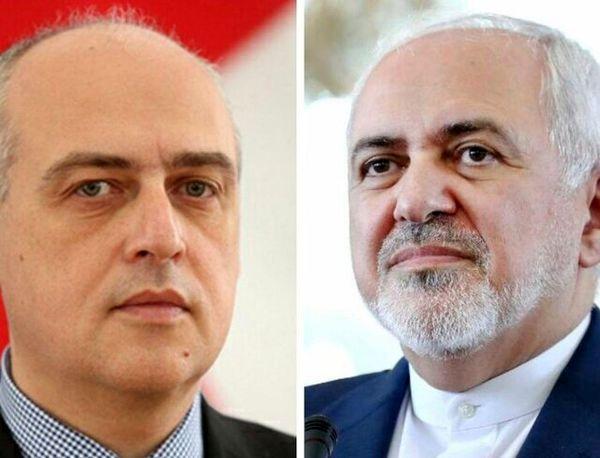 تبریک ظریف برای انتصاب مجدد وزیر خارجه گرجستان