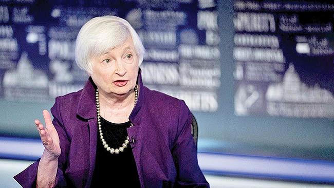 حمایت یلن از بسته بزرگ محرک مالی