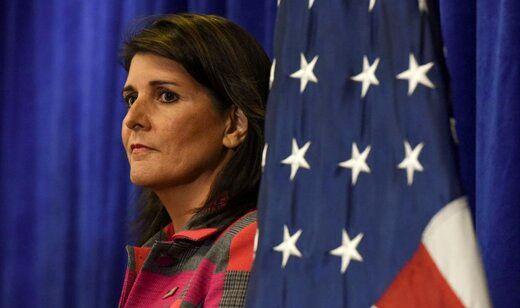 نیکی هیلی: بایدن ایران را تقویت و آمریکا را تضعیف کرد