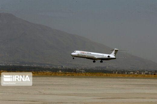 فرود اضطراری هواپیمای مسافربری در اندیمشک تکذیب شد