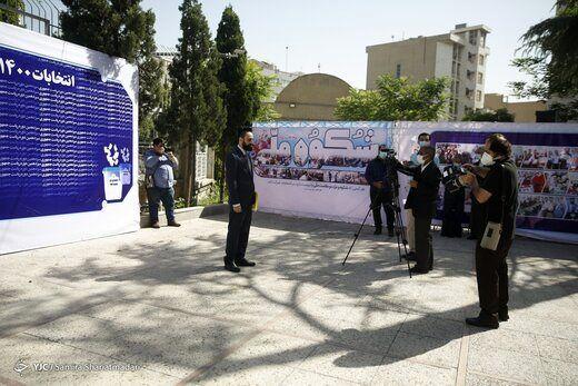 کاندیدایی که حضورش در ستاد انتخابات دردسر ساز شد+ عکس