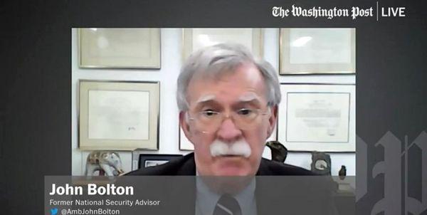 بولتون: ترامپ ۳۰ روز آینده به دنبال توافق با تهران خواهد بود