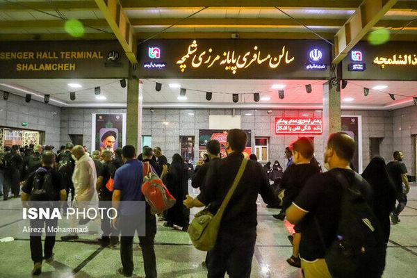 گرفتن بیش از ۱۲ هزار تست کرونا از زائران در مرز مهران