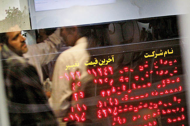 جهش 5 کانالی بورس تهران