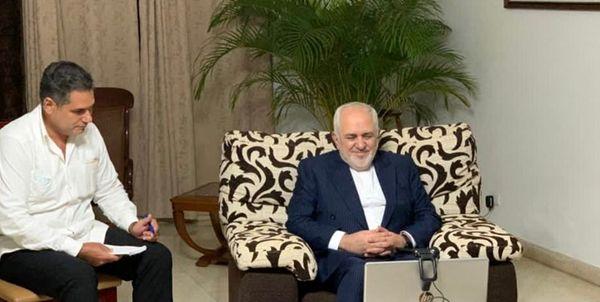 گفتوگوی ظریف با رییس جمهور کوبا