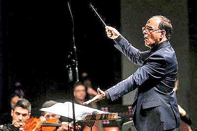 برگزاری مستر کلاسهای رهبری ارکستر توسط نصیر حیدریان