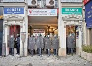 فرانسه در وضعیت فلج شدگی
