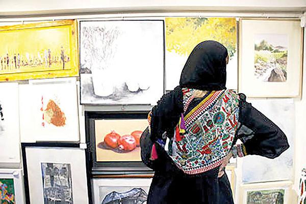 برگزاری مجازی «صد اثر صد هنرمند»  با 282 تابلو