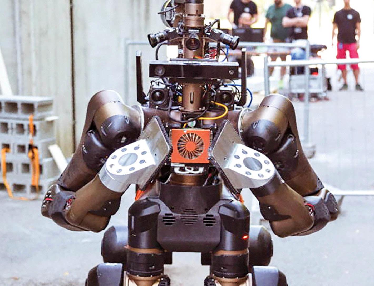 روبات کاراتهباز برای عملیات نجات
