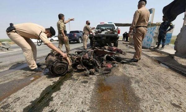 وقوع یک انفجار در مسیر فرودگاه بغداد
