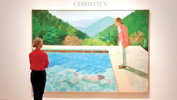 رکورد فروش گرانترین تابلوی هنرمند زنده شکسته شد