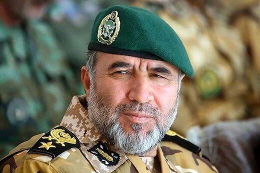 رونمایی فرمانده نیروی زمینی ارتش از یک پروژه خطرناک علیه ایران