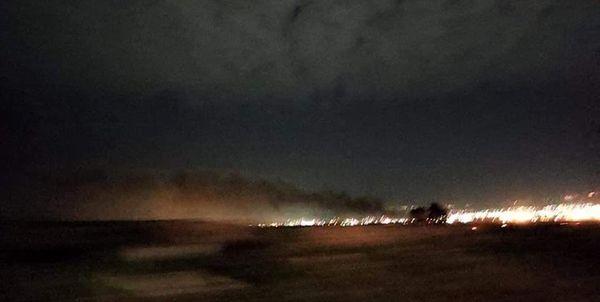 صدای چند انفجار در اربیل عراق شنیده شد