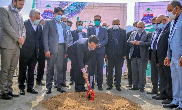 عملیات اجرایی کارخانه جدید روغن نباتی نرگس شیراز آغاز شد