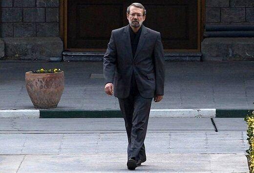 دیدار علی لاریجانی با نامزدهای انتخابات 1400 صحت دارد؟