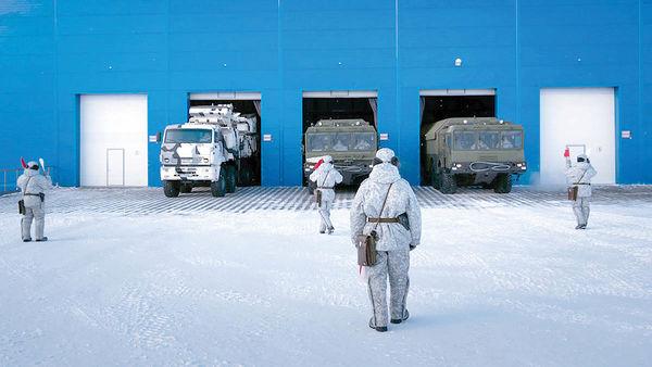 جنگ خیلی سرد در قطب شمال
