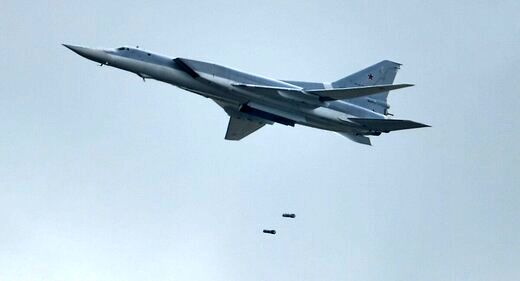 استقرار بمب افکنهای روسیه در مرز افغانستان